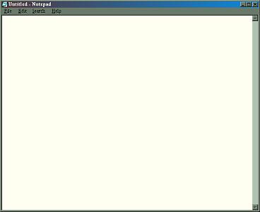 A basic notepad editor.