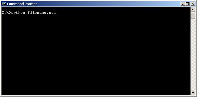 Executing a Python script file
